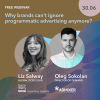 "Free Webinar ""The Evolution of Programmatic: What Are the Key Opportunities for Brands?"""