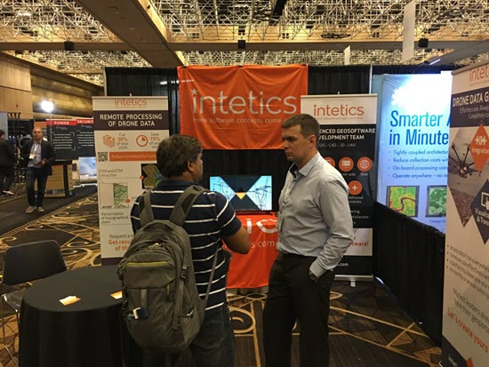Picture of the Interdrone exhibition