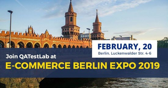 QATestLab at E-commerce Berlin Expo