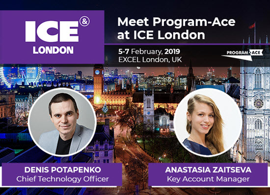 Program-Ace at ICE London